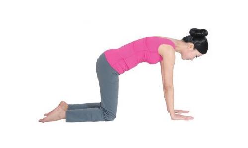 瑜伽体式讲解-瑜伽新月式图片