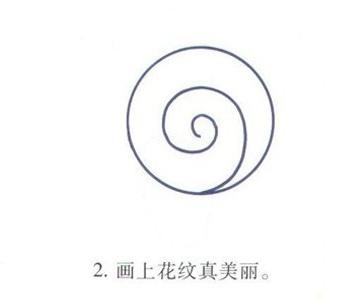小蜗牛怎么画 蜗牛简笔画图片教程
