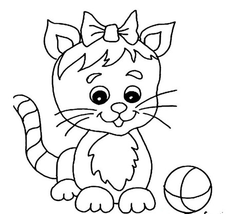 关于猫的简笔画大全
