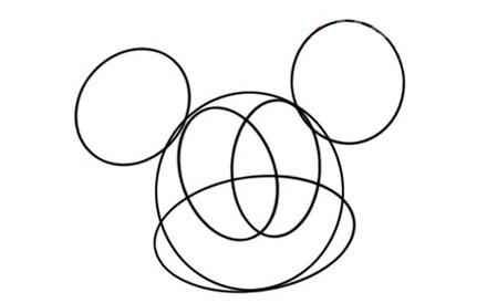 儿童学画画之米老鼠简笔画