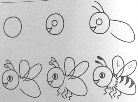 怎样教孩子画动物简笔画?