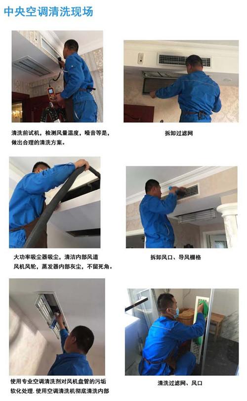 中央空调清洗步骤