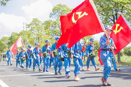 红色军事夏令营15天