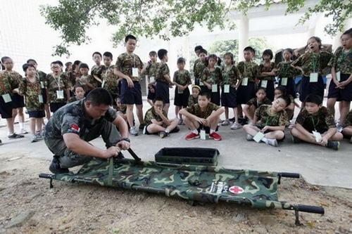 蛟龙军事夏令营14天